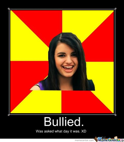 Friday Song Meme - rebecca black bullied for song quot friday quot by