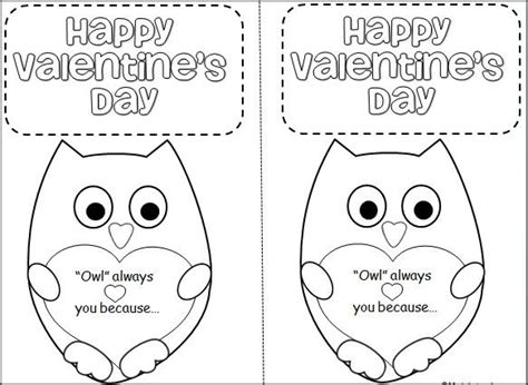 Printable Owl Card Template by Quot Owl Quot Always You Because Template For Creating