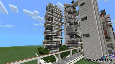 Apartment Design Ideas by Nxus Modern City Map For Minecraft Pe 0 10 X
