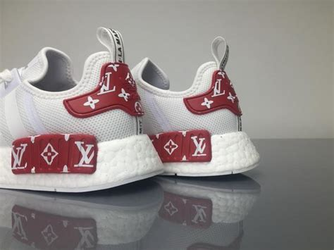 Converse Lv Supreme White supreme x louis vuitton x adidas nmd r1 x white boost power 14