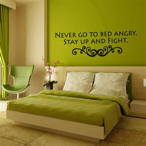 Exquisite Green And Natural Bedroom Wall Color Design With Colorful Bedroom Wall Designs