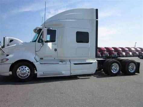 international semi truck international prostar 2009 sleeper semi trucks