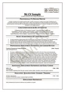 mr cv sample professional cv writing service