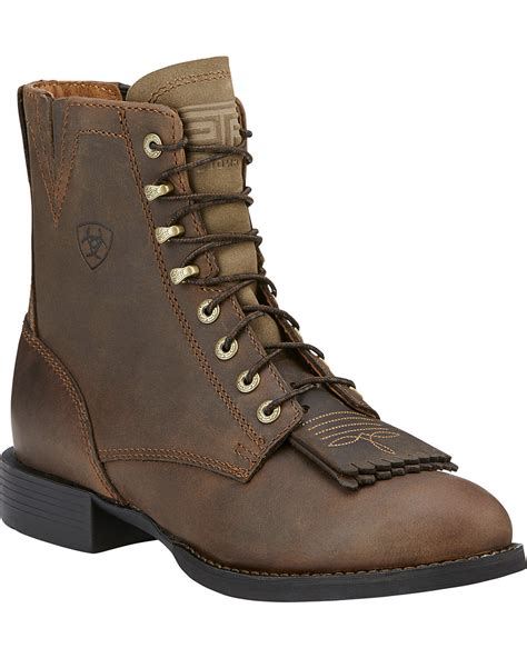 ariat womans boots ariat s heritage lacer ii western boots boot barn