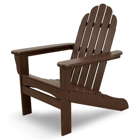 Plastic Adirondack Chair - us leisure fern plastic adirondack chair 153853 the home