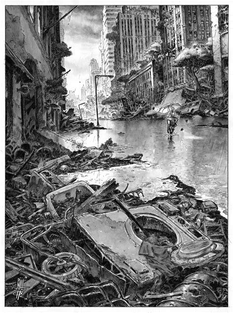 "En vente - Couverture tome 4 de ""Urban"" par Roberto Ricci"