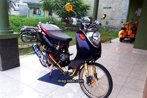 Modifikasi Motor Classic 42 foto gambar modifikasi fino thailook style simple