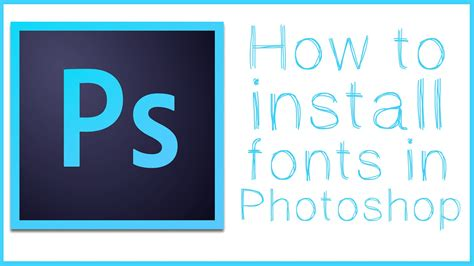 download tutorial typography photoshop how to download and install fonts in photoshop photoshop