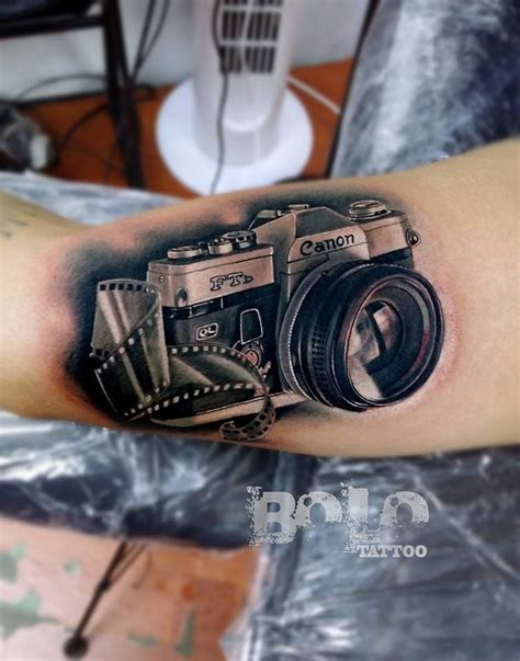 tattoo camera canon arm best design ideas