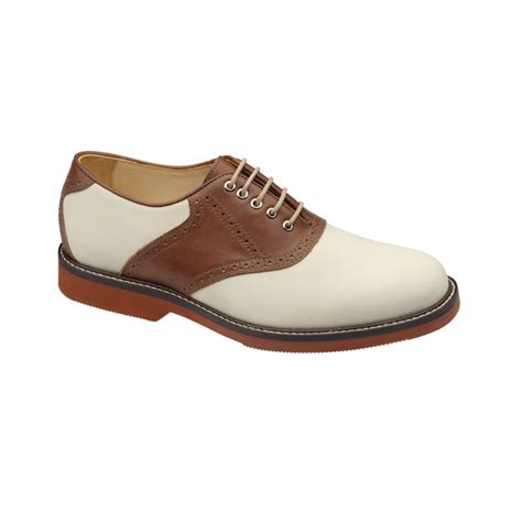 johnston murphy shoes johnston murphy brennan saddle shoes in white for