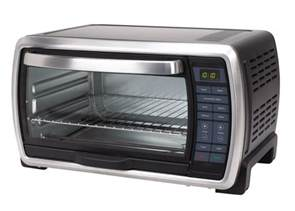Large Capacity Countertop Oven by Oster Large Capacity Countertop 6 Slice Digital Convection Toaster Oven Ebay