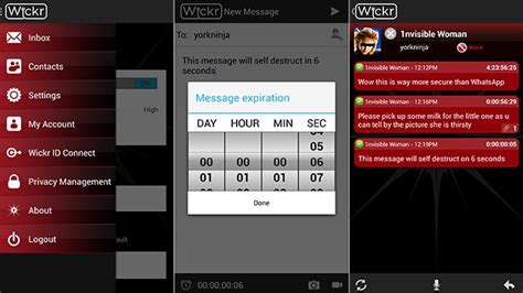 wickr android messaging app aims to be a safer snapchat cnn