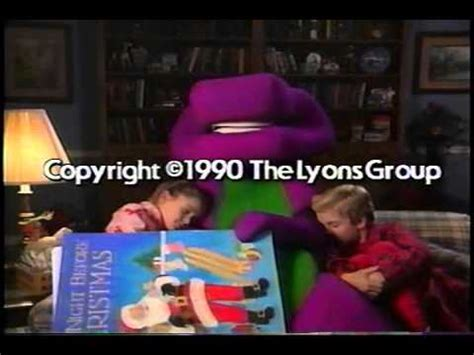 barney and the backyard gang previews waiting for santa original version part 3 youtube