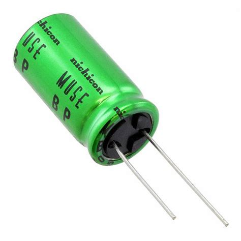 nichicon es capacitors ues1e102mhm nichicon capacitors digikey