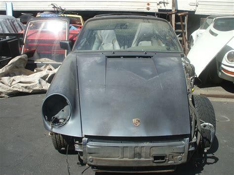 Project Porsche For Sale by 1987 Porsche 911 Targa Project Car For Sale