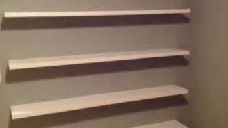 how to build sleek free floating wall shelves