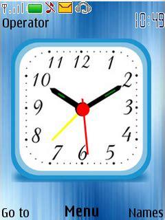 themes clock new nokia 5130 themes digital clock new calendar template site