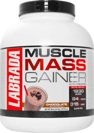 best protein mass gainer mass gainer by labrada at bodybuilding best