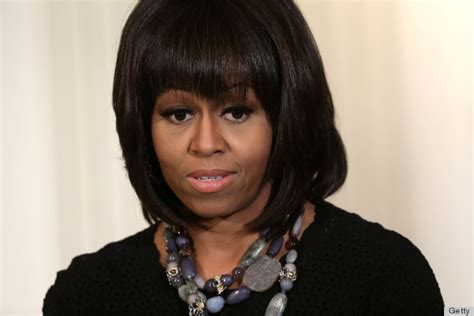 michele no wig michelle obama on ditching her bangs it s hard to make