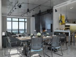 Cool Lamp Ideas industrial loft apartment design ideas with elegant dark