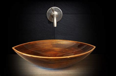 wooden sinks for bathroom fascinating wooden bathroom sinks to create a style