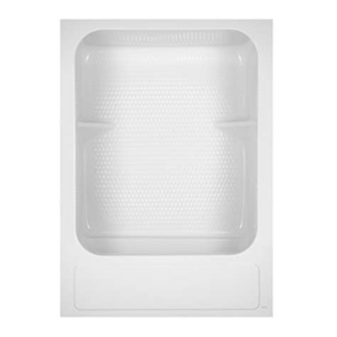 Aqua Glass Shower by Shop Aqua Glass 83 5 8 In H X 33 1 4 In W X 60 In L Special Care White 1 Shower With