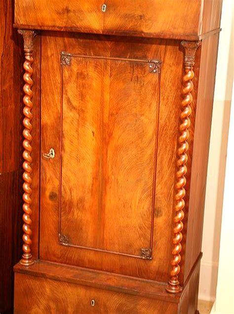 Biedermeier Pedestal Cabinet For Sale at 1stdibs