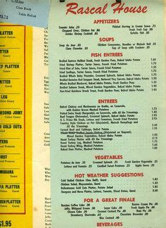 rascal house menu rascal house restaurant miami beach in the 60 s 70 s pinterest restaurants