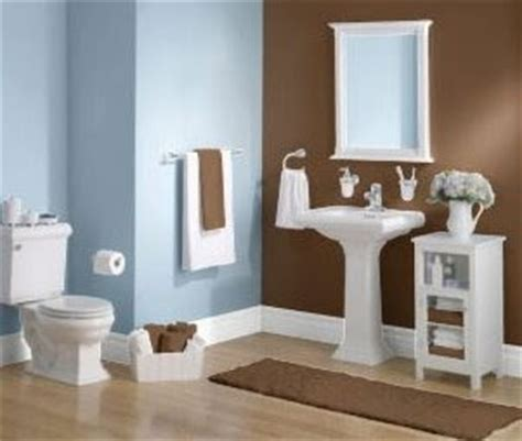 Blue Brown And White Bathroom Ideas by Blue Brown Bathroom 2017 Grasscloth Wallpaper