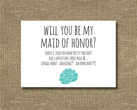 will you be my text will you be my of honor will you be my matron of honor