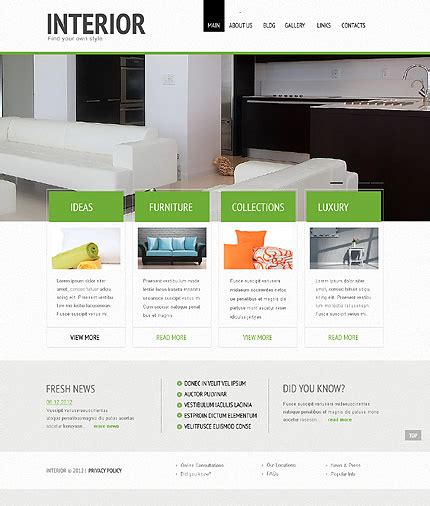 wordpress themes interior design 40 interior design wordpress themes that will boost your
