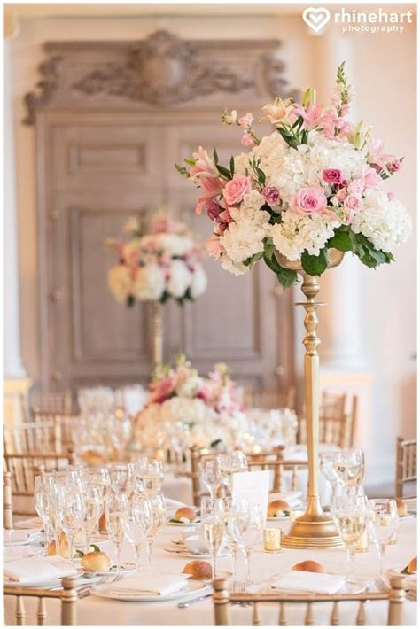 best 25 pink wedding centerpieces ideas on