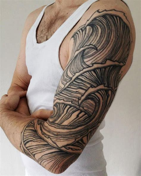 surf sleeve tattoo designs surfing by jessimanchester sleeve tattoos for