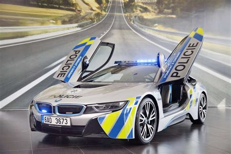 BMW i8 Police Car for Czech Republic Security Force Revealed