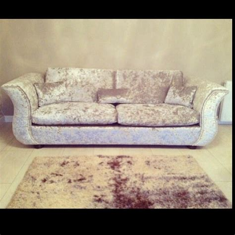 velvet sofa with studs tbt silver crushed velvet sofa with silver studs that we