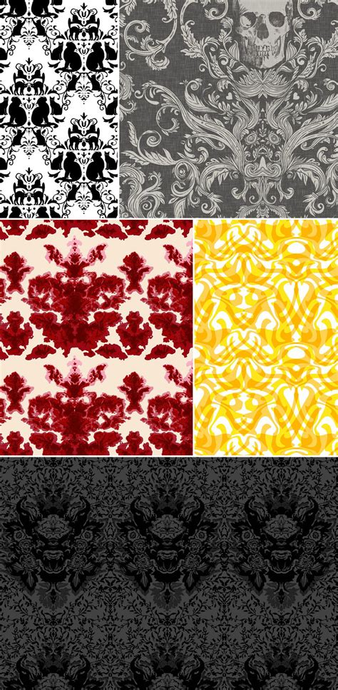 damask pattern history history of surface design damask pattern observer