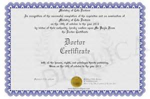 printable degree doctor certificate