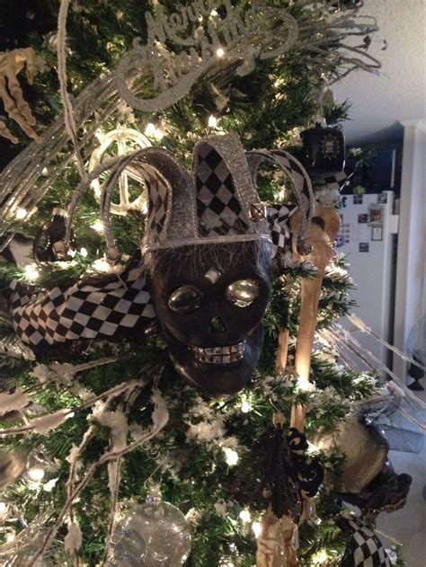 skull christmas tree toppers 67 best skull tree images on