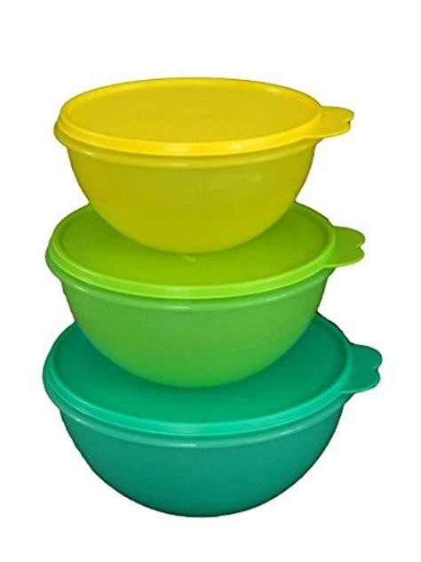 Tupperware Multi Bowl Set tupperware wonderlier bowl 3 pc set 696737101341 toolfanatic