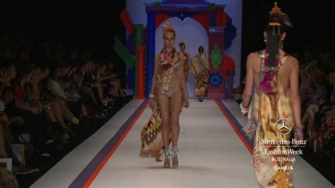 Fashion Erkud Flower camilla mercedes fashion week australia summer 2012 13 collections