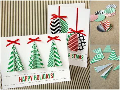 printable handmade christmas cards 50 creative homemade christmas cards showcase hative