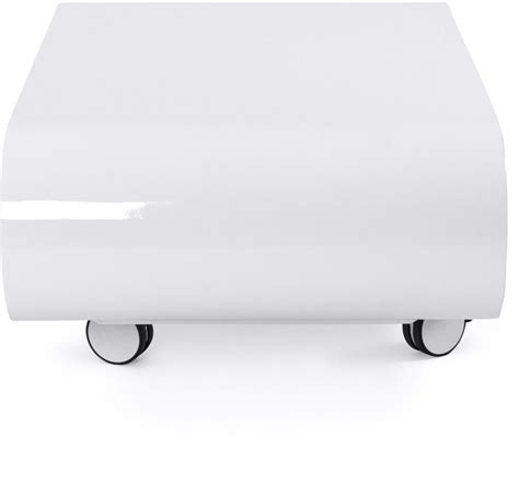 Table Basse Ovale Blanche 494 by Table Basse Ovale Blanche Glossy