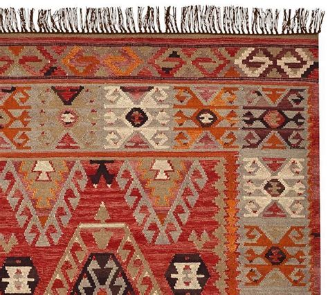 Pottery Barn Cyndy Kilim Rug 8 X 10 New Indoor Outdoor Indoor Outdoor Rugs Pottery Barn
