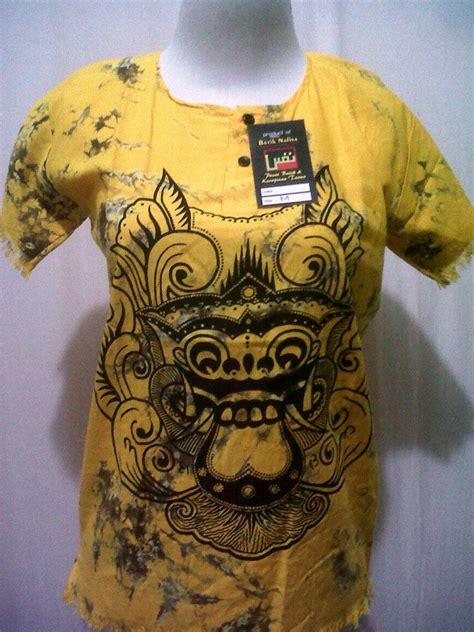 Kaos Be Holder Barong Bali produsen kaos barong grosir batik pekalongan