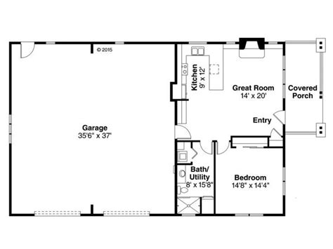 garage floor plans with apartments floor plan 051g 0079 rec room house tiny houses and barn