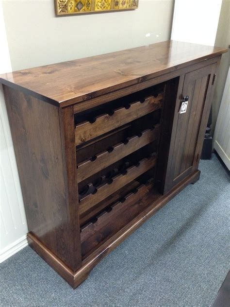 Rack Furniture by Rustic Wine Rack Brices Furniture