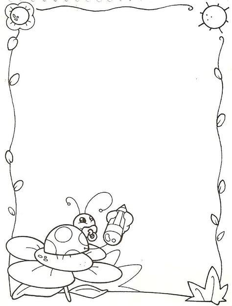 imagenes escolares para dibujar marcos para caratulas para dibujar imagui
