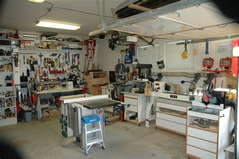 garage work shop greg s garage workshop the wood whisperer