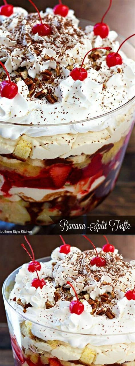 check out banana split trifle it s so easy to make