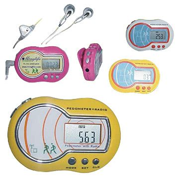 Pedometer With Fm Radio Walking Steps Counting Calories Distance health care products page 7